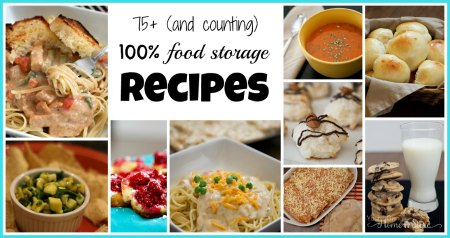 100 food storage recipes simple family preparedness food storage recipes forumfinder