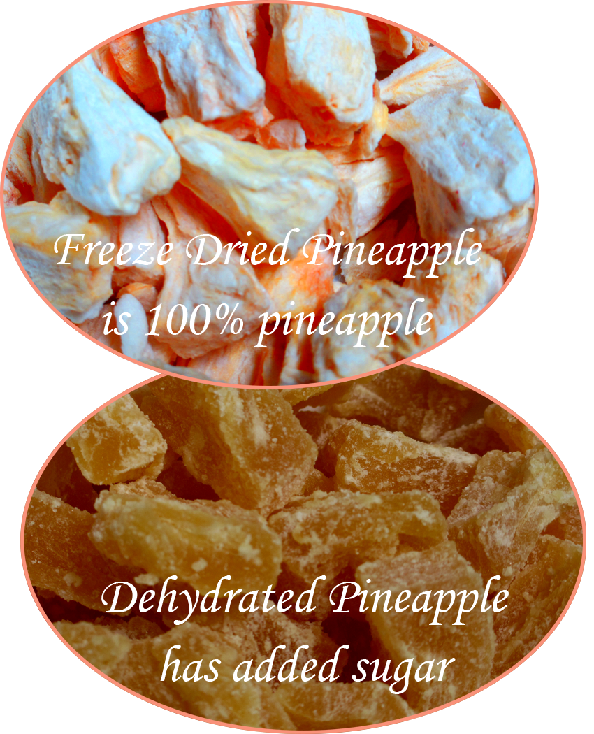 freeze dried vs dehydrated
