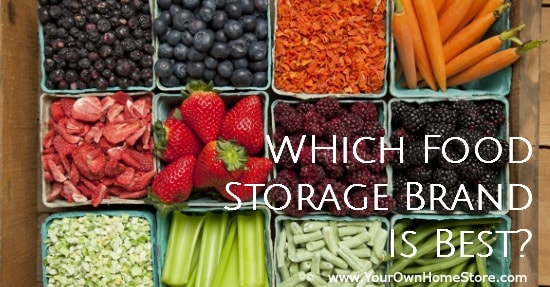 There are a lot of food storage brands available. Find out which ones you can trust and why Thrive food is the best.