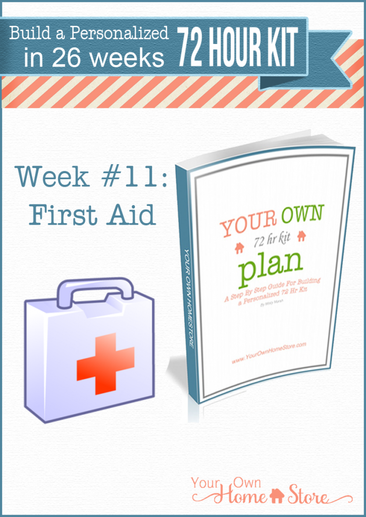 Week 11 in a step by step 72 hour kit series. Makes building a robust, personalized 72 hour kit affordable and do-able!