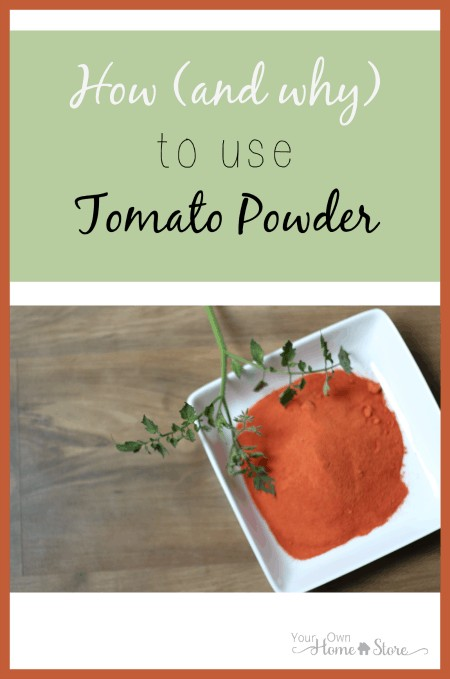 Tomato powder has so many uses and can save time and money in the kitchen. Find conversions, tips, recipes and more!