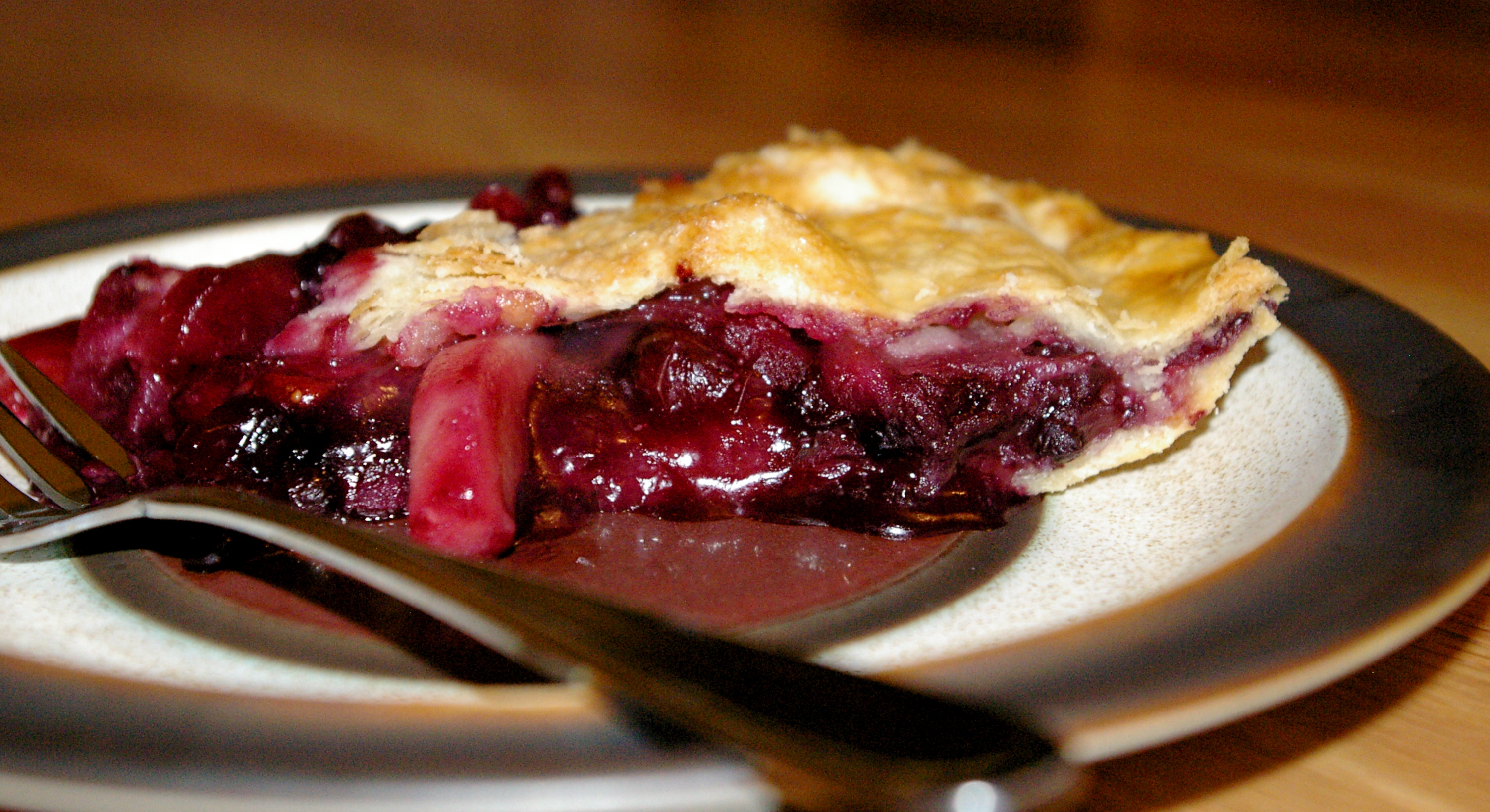 Apple Berry Pie from Food Storage