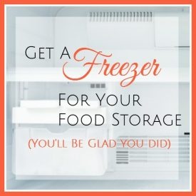 how to use a freezer for food storage featured