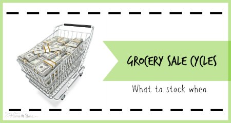 Grocery sale cycles