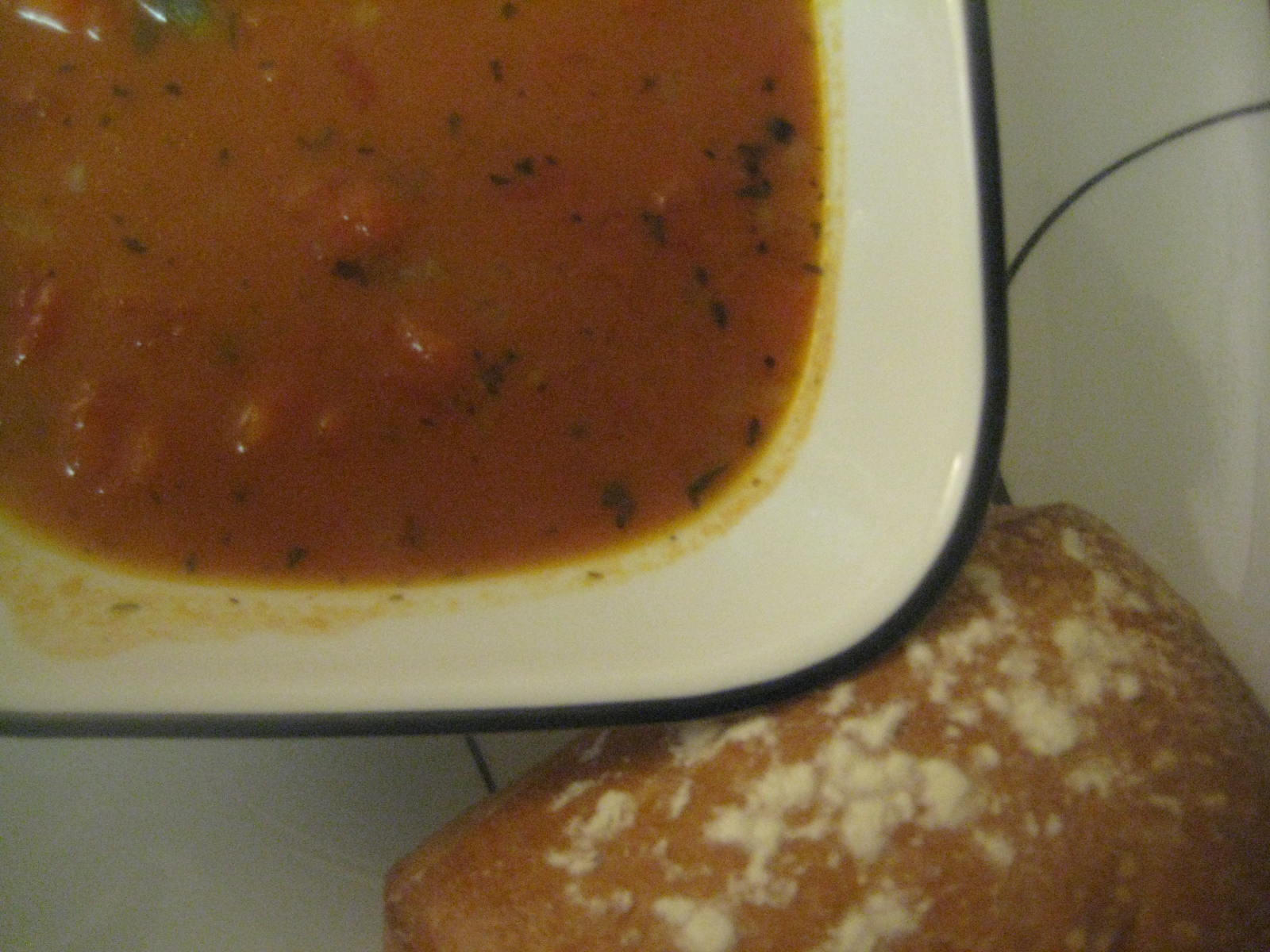 Not So-Sherried Tomato Soup