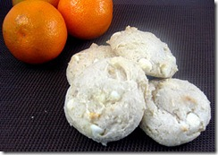 orange food storage cookies