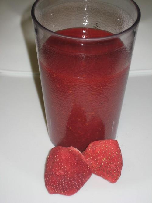 Freeze Dried Fruit Sauce