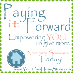 Paying it Forward Announcement
