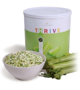 THRIVE freeze dried celery by THRIVE Life (formerly Shelf Reliance)