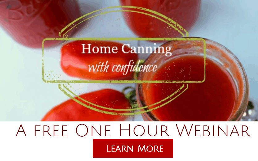 home canning webinar