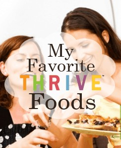 My Favorite Thrive Foods from Simple Family Preparedness http://simplefamilypreparedness.com/my-favorite-thrive-food-products/