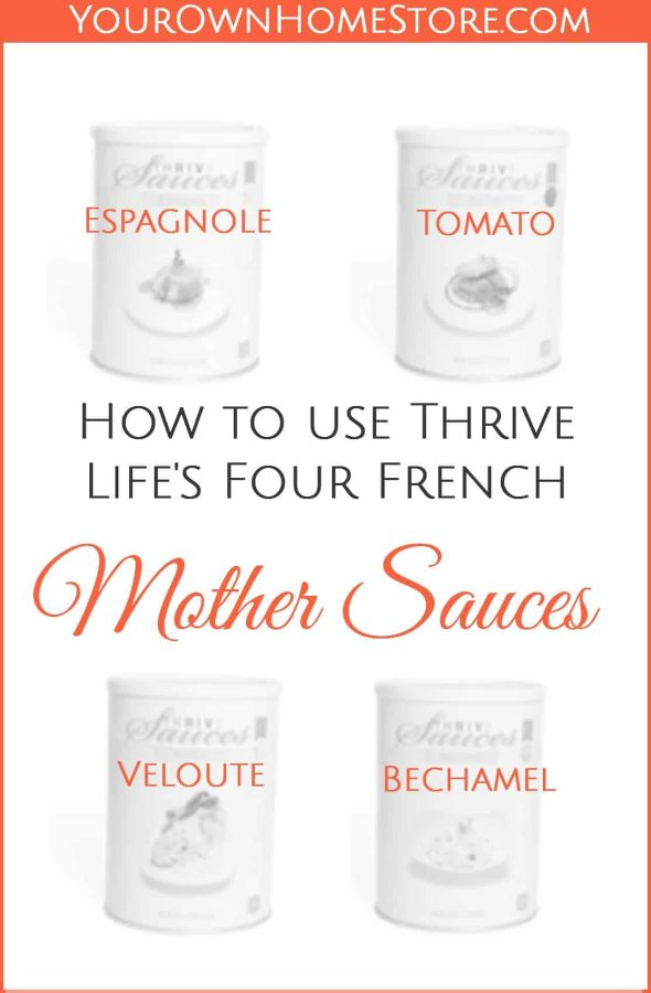 thrive-life-french-mother-sauces-pinterest