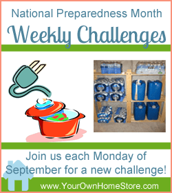 Welcome To National Preparedness Month!