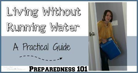 Do you have emergency water storage?  Could you live without running water?  This lady tried it!  Come see what she learned!