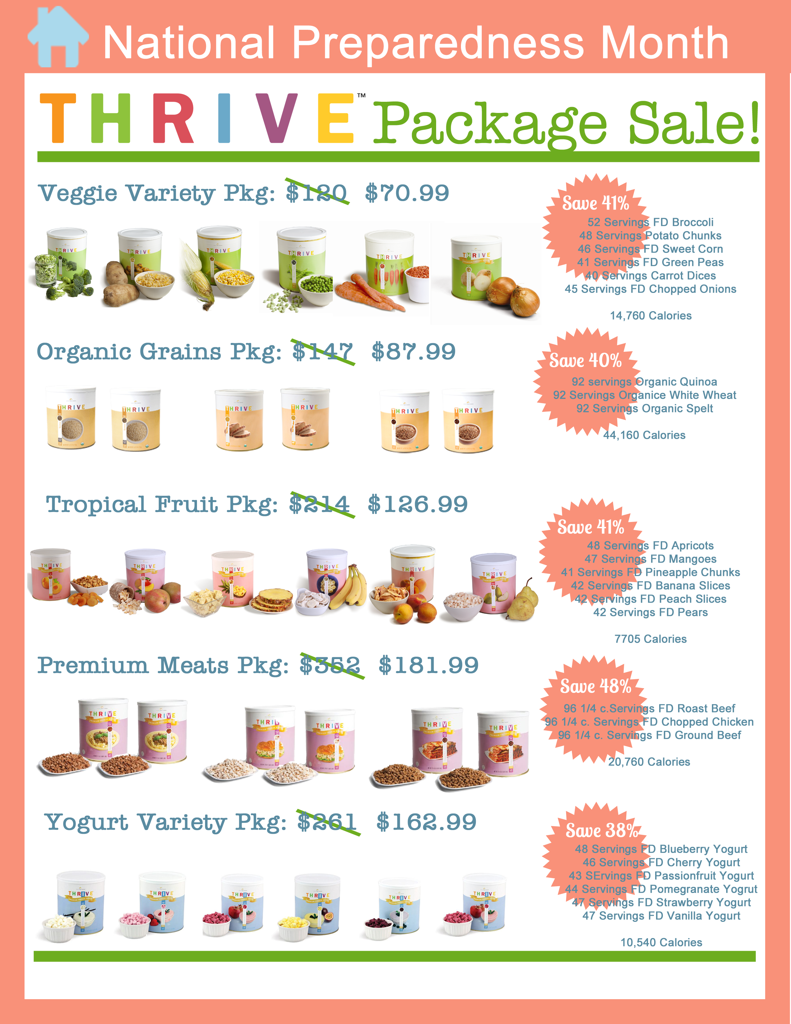 Featured Thrive Food Package