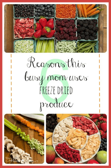 Getting kids to eat healthy can be tough: especially if you are busy and on a budget.  Freeze dried produce can help!