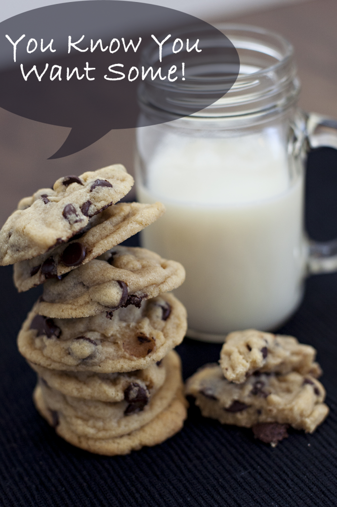 Tempting Chocolate Chip Cookies