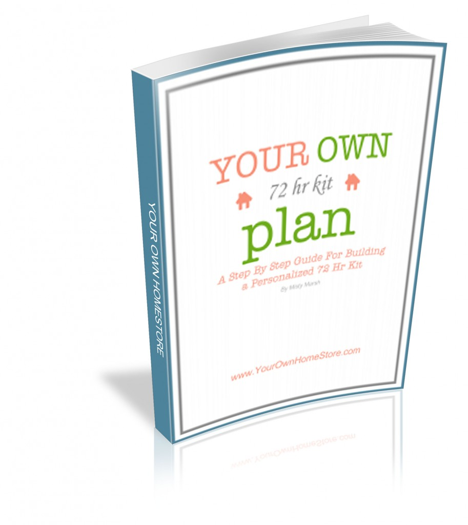 Your Own 72 Hour Kit Plan E-Book