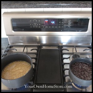 Cooking Beans and Quinoa