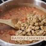 Bayou Pasta Chicken
