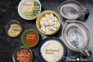 Bayou Pasta Ingredients