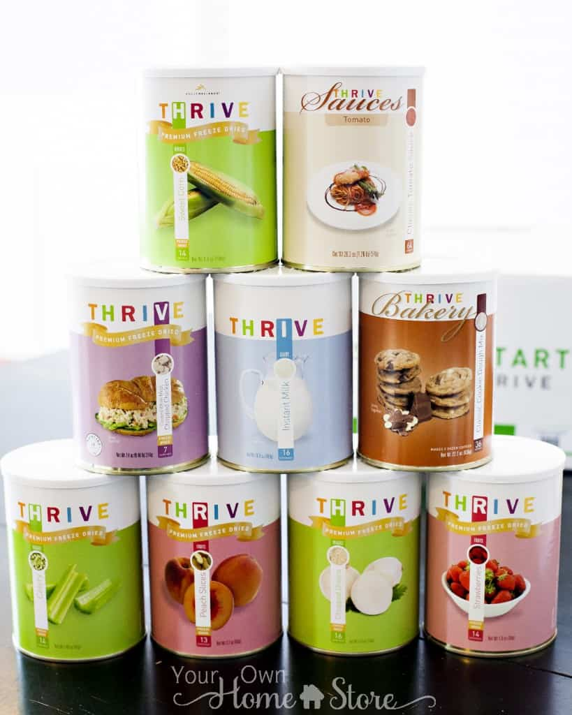 Taste of Thrive Cans