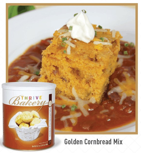Thrive Life Bakery Cornbread Mix