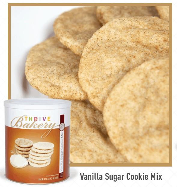 Thrive Life Bakery Sugar Cookies