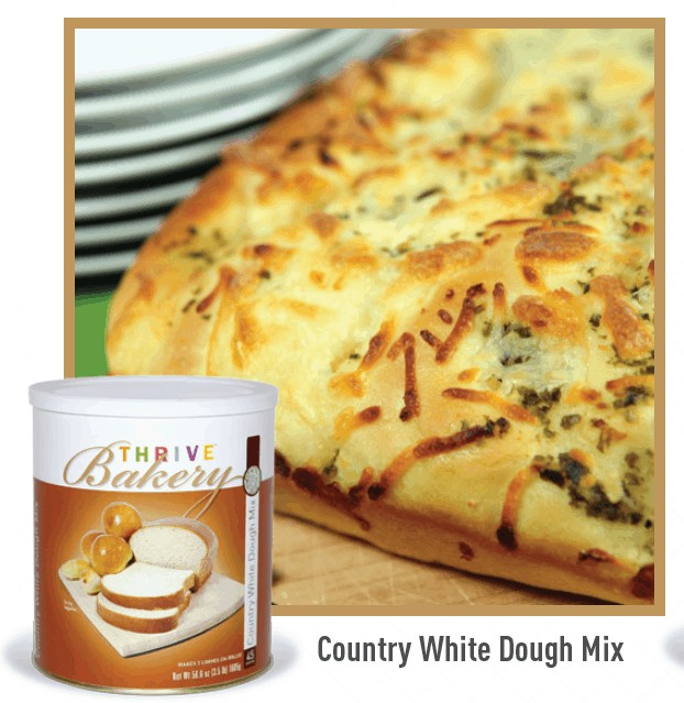 Thrive Life Bakery White Dough Mix