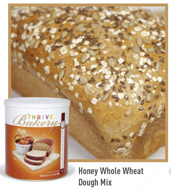 Thrive Life Bakery Whole Wheat Dough Mix