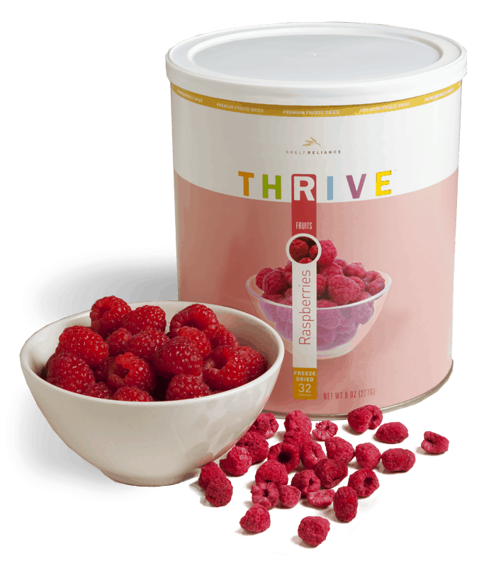thrive raspberries