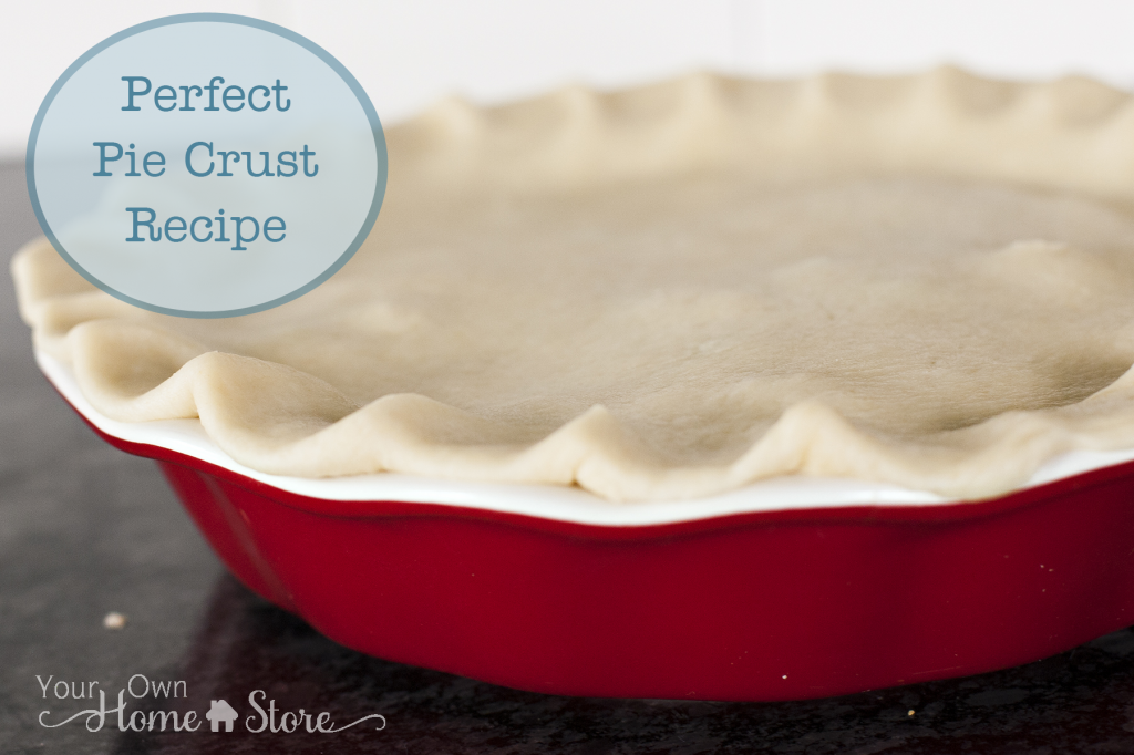 Perfect (and simple) pie crust