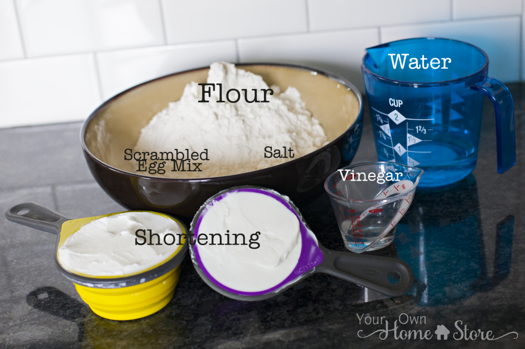 Pie Crust Ingredients