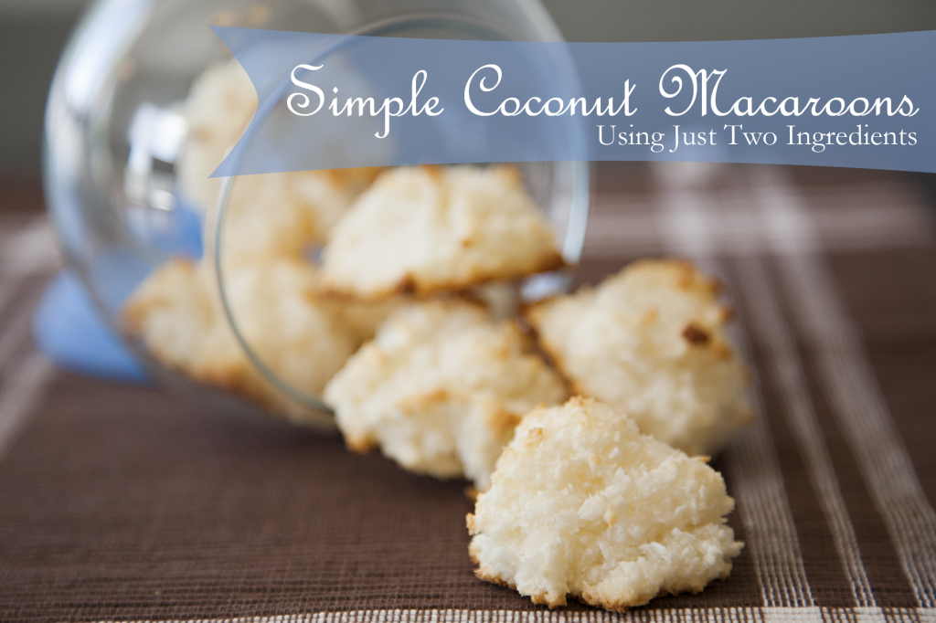 Simple Coconut Macaroons