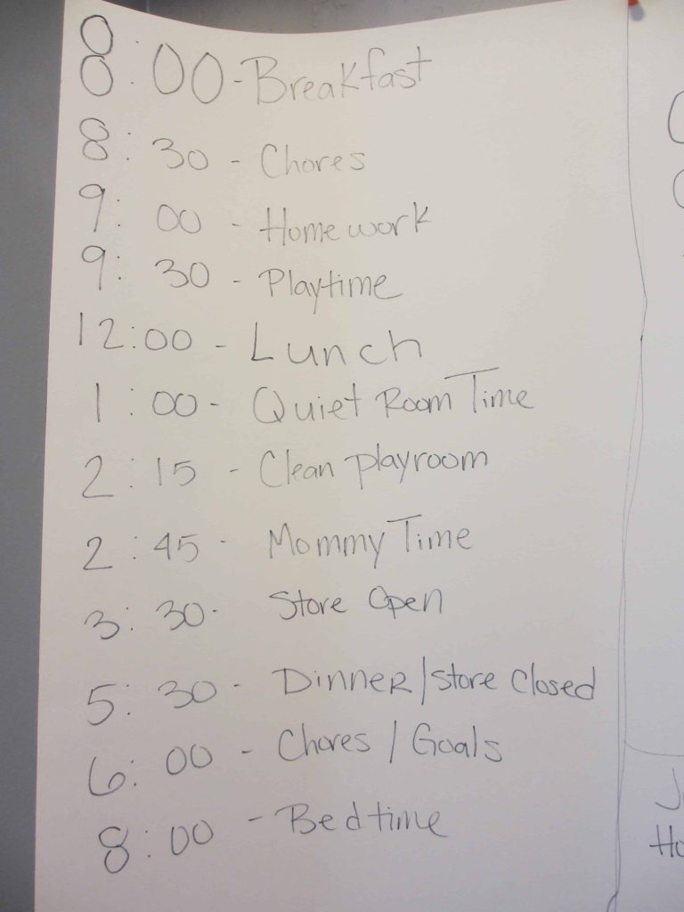 Summer Schedule ideas for kids. Plus bored bucket ideas!
