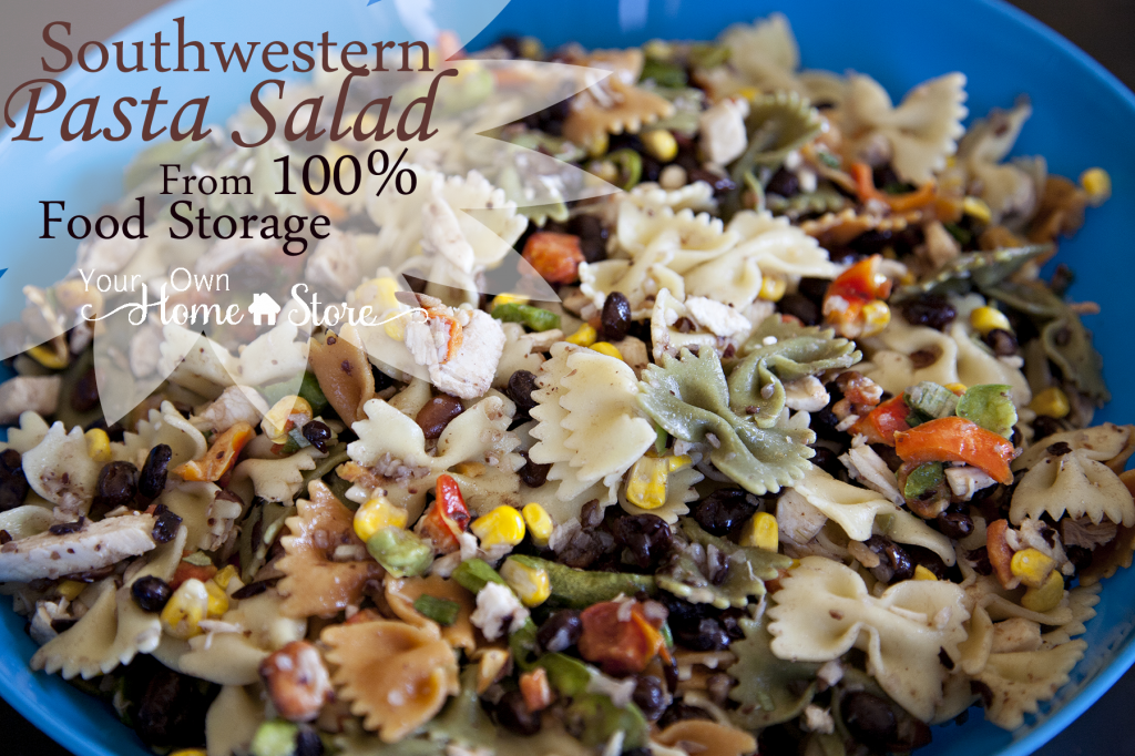 Southwestern Pasta Salad From Food Storage