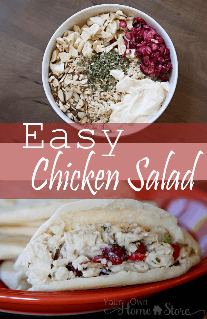 10 Minute Chicken Salad from Simple Family Preparedness https://simplefamilypreparedness.com/10 Minute Chicken Salad from Simple Family Preparedness https://simplefamilypreparedness.com/chicken-salad/chicken-salad/