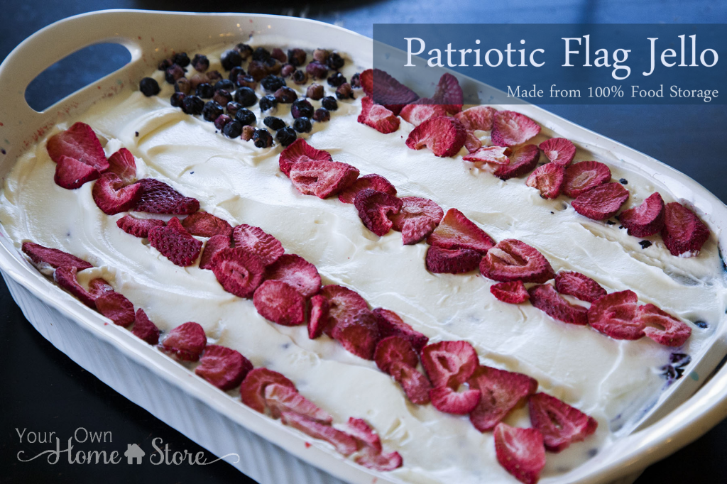 Patriotic Flag Jello