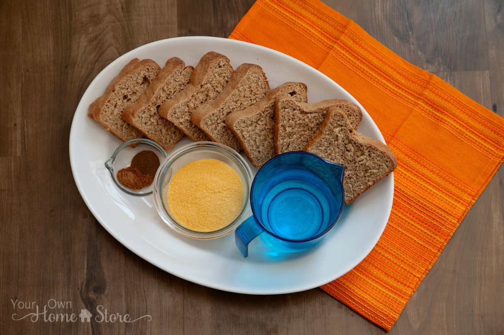 Food Storage French Toast Ingredients