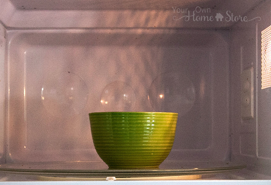 Homemade oatmeal in microwave from Simple Family Preparedness