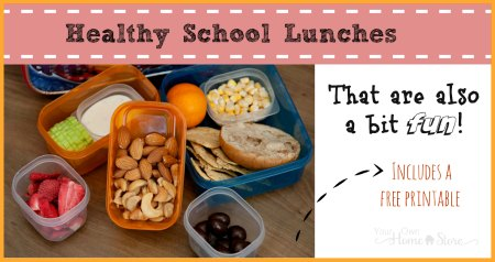 Let your kids choose (from a list of healthy school lunch ideas) what they get for lunch each day lunch-able style.