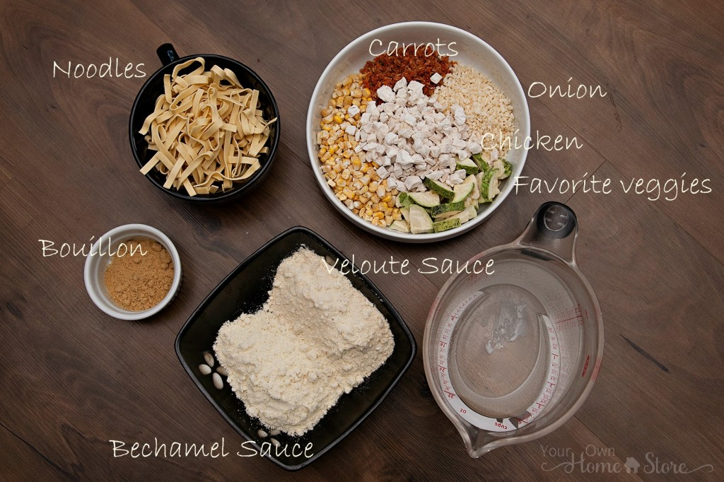 Homemade Chicken Noodle Soup Ingredients: https://simplefamilypreparedness.com/homemade-chicken-noodle-soup/