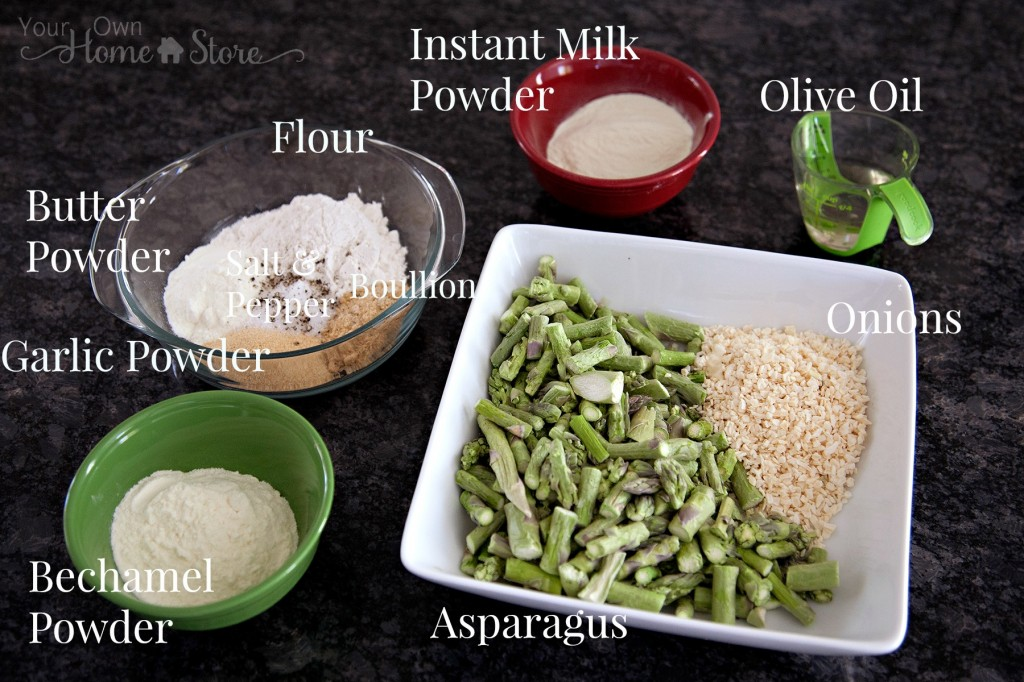 Asparagus Soup Ingredients