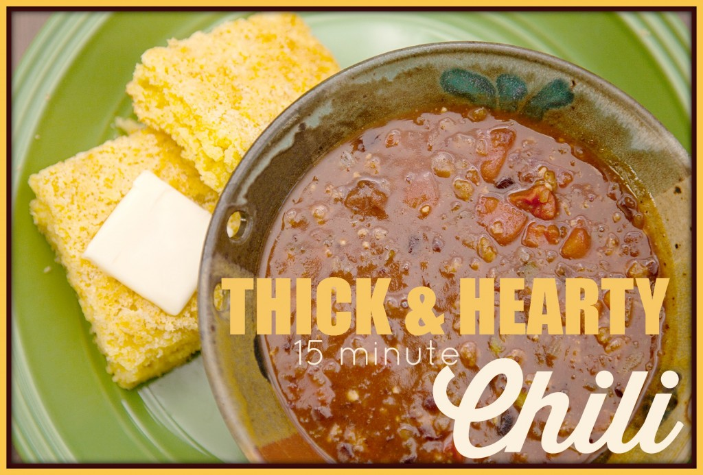 Thick and Hearty Chili https://simplefamilypreparedness.com/thick-and-hearty-chili/