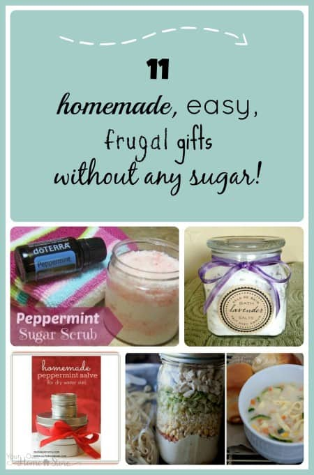 Sick of sugary, meaningless neighbor gifts?  Try these 11 simple, frugal, homemade gifts