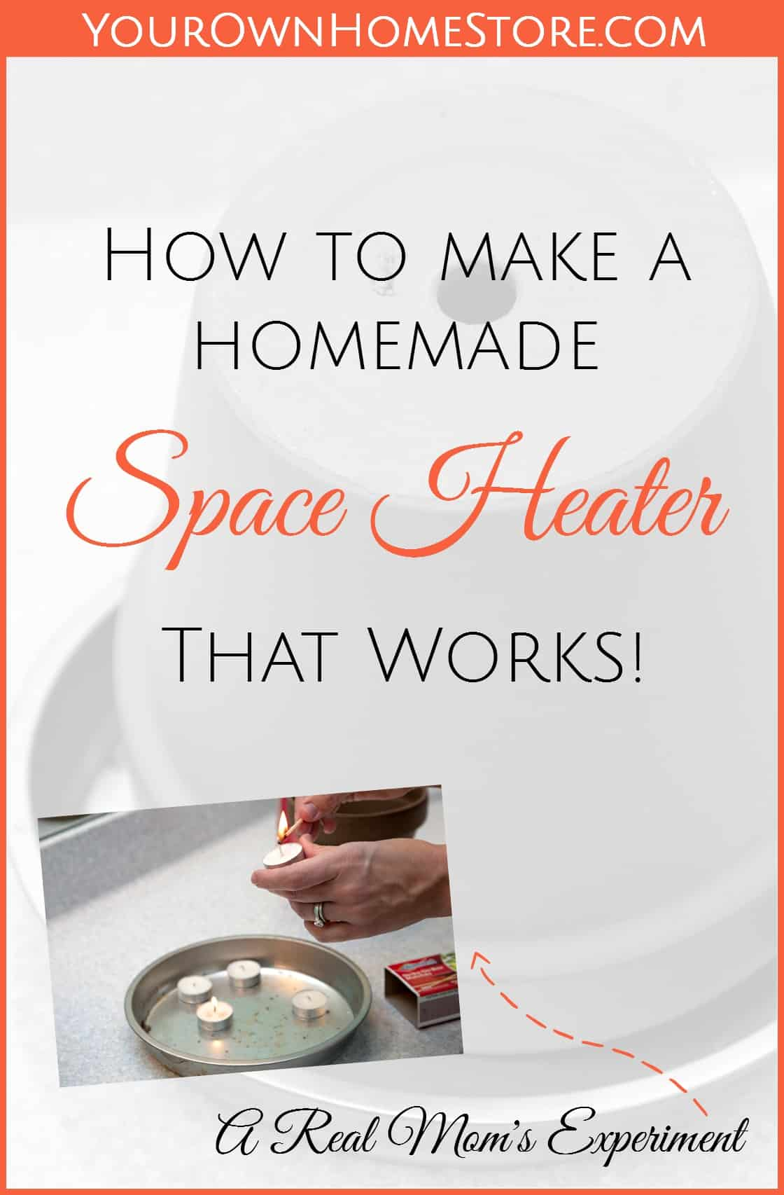 DIY Space heater | Emergency heater | Homemade heater