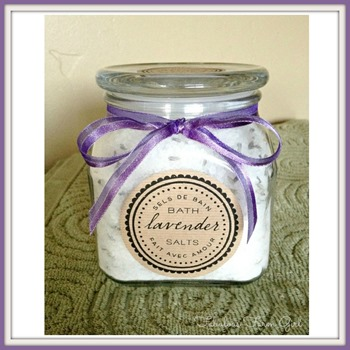 lavendar Bath Salts