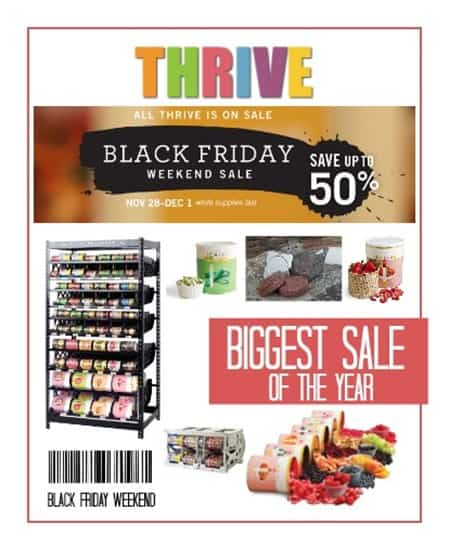 thrive sale