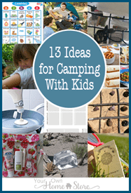 13-Ideas-that-simplify-camping-with-Kids