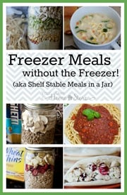Freezer Meals without the freezer